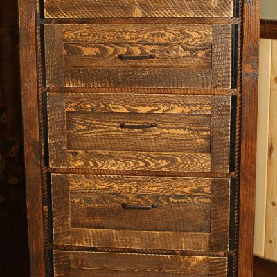 Circle-Sawn Chest of Drawers