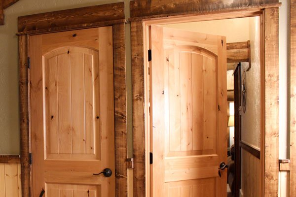 Custom Rustic Door Trim by ProRustics