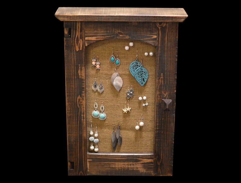 Custom Rustic Jewelry Box