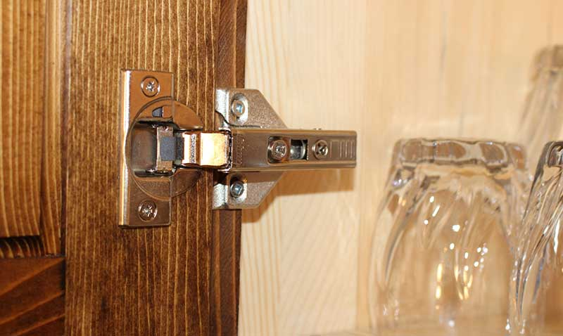 Kitchen Cabinet Soft-Close Hinge