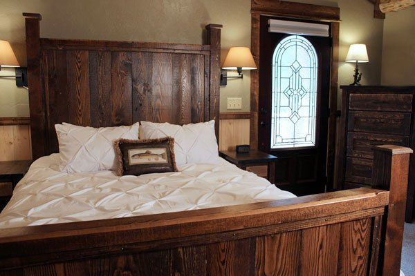 ProRustics Custom Rustic Bedroom