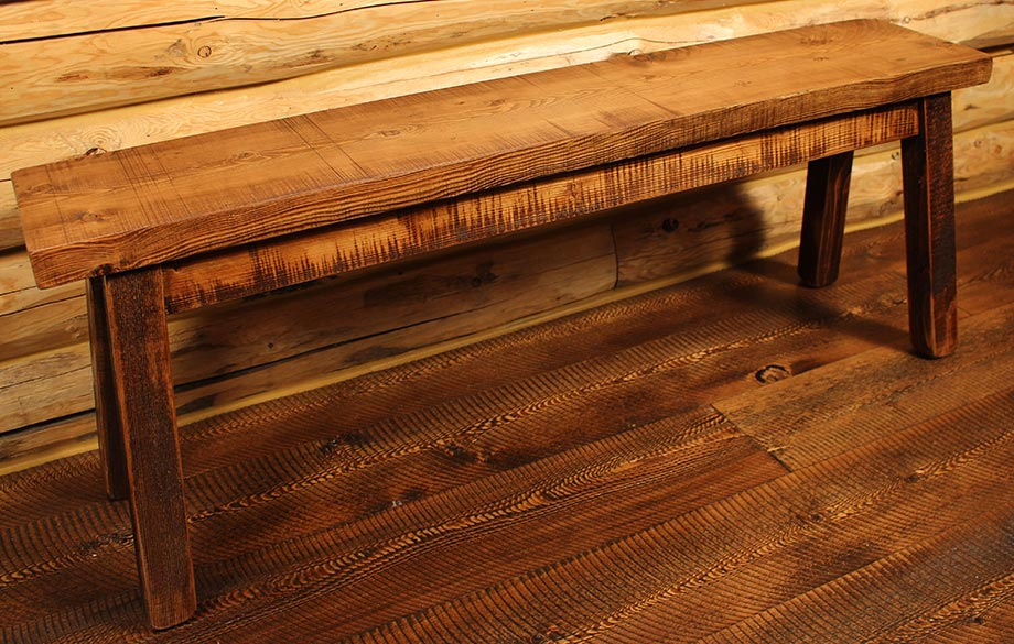 ProRustics Rustic Entry Bench