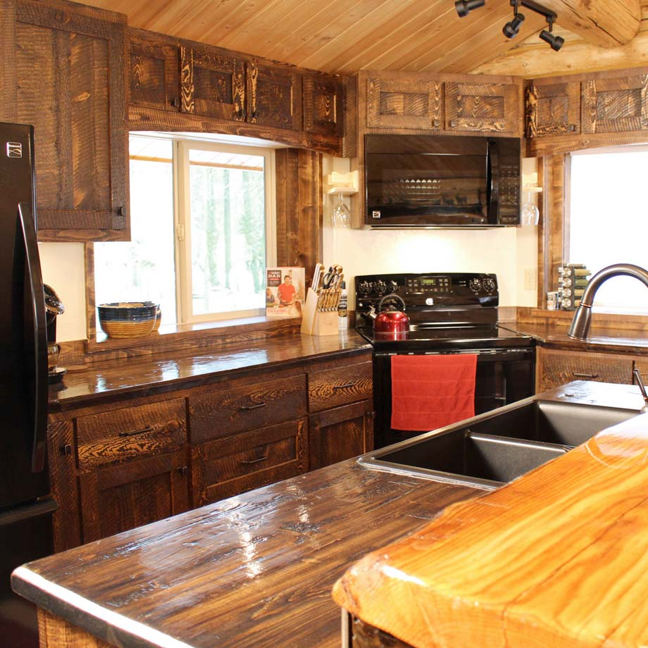 Custom Rustic Kitchen Designs by ProRustics